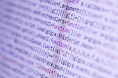 HTML codes — Stock Photo