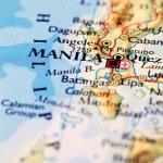 Постер, плакат: Manila city map