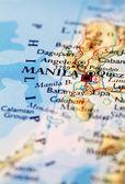 Manila city map — Stock Photo