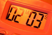 计时器时钟 — 图库照片