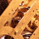 Clock mechanism — Stock Photo #53222053