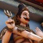 Hindu God Statue — Stock Photo #53299945