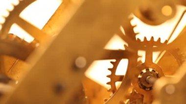 ClockMechanism — Vídeo Stock