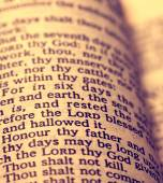Alte bibel — Stockfoto