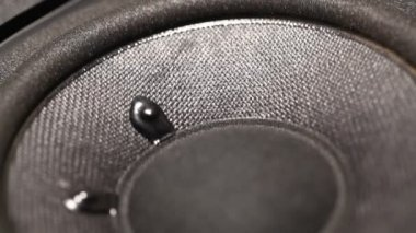 Sub woofer in action — Stock Video