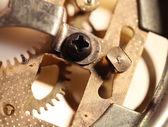 Uhr mechanik — Stockfoto