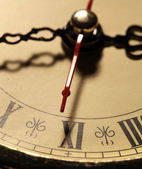 Old clock face — Stock Photo