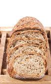 全粒粉パンのスライス — ストック写真