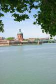 Riverbanks of Toulouse — Stock Photo