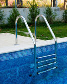 Stairway for pool — Foto de Stock