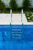 Stairway for pool — Stock Photo