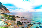 Seascape of the seaside — 图库照片