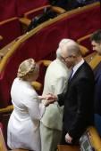 Yulia Tymoshenko in Ukrainian Parliament, 27 November 2014, Kiev, Ukraine — Stock Photo
