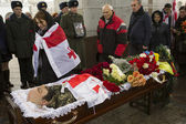 Soldier killed in clashes at Donetsk airport laid in rest in Kie — Photo