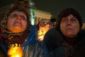 Anti government protest in Ukraine  — Stock Photo