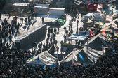Antyrządowe protesty na Ukrainie — Zdjęcie stockowe