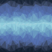 Blue Triangle Geometrical Background — Wektor stockowy