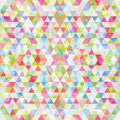Triangular colorful mosaic background — Stock Vector