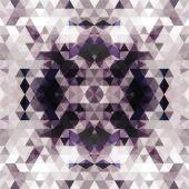 Triangular mosaic purple background — Stock Vector