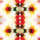 Triangular colorful mosaic background — Vector de stock