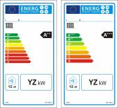 New energy rating graph label — Vetorial Stock