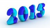 Represents the new year 2015 — Foto Stock
