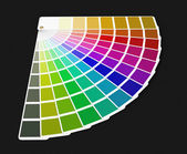 Pantone color palette guide (clipping path included) — Stock Photo