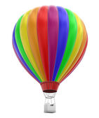 Hot Air Balloon (clipping path included) — Stock Photo