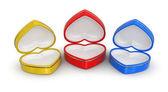 Contenitori del cuore (percorso di residuo della potatura meccanica incluso) — Foto Stock