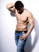 Handsome young bodybuilder — Stock Photo