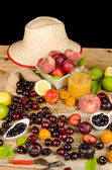 水果静物 — 图库照片