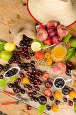 果物の静物画 — ストック写真