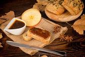 Homemade apple butter — Stock fotografie