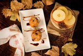 Baked apples — Stock Photo