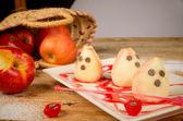 Spooky pears — Stock fotografie