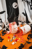 Chewy Halloween sweets — Stock Photo