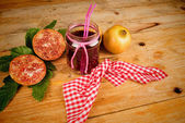Suco de romã — Fotografia Stock
