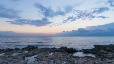 Nascer do sol mediterrâneo — Vídeo Stock