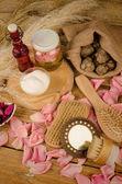 Natural cosmetics — Stock Photo