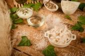 Natural cosmetics ingredients — Stock Photo
