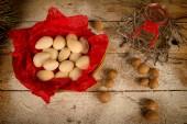 Almond Christmas sweet — Stock Photo