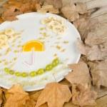 Autumn fruit salad — Stock Photo #57574669