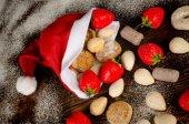 Traditional Christmas sweets — Stock Photo