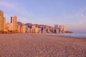 The northern skyline of beach — Stock Photo