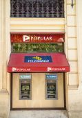 Banco Popular branch — Stock fotografie
