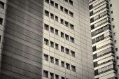 Facciata condominio — Foto Stock
