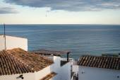 Rooftops of old town Altea — Стоковое фото