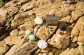 Natural cosmetics outdoor — Stock Photo