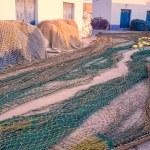 Fishing nets for repair — Stock Photo #66212195