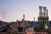 Large petrochemical facility — Stock Photo